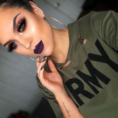 Hooded Eye Makeup – Great Make Up Ideas Gorgeous Makeup, Love Makeup, Makeup Inspo, Makeup Inspiration, Makeup Tips, Makeup Looks, Makeup Videos, Simple Makeup, Makeup Products