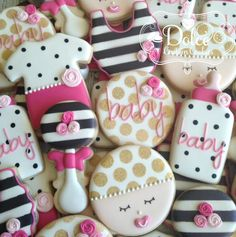299 Best Baby Girl Cookies Images Decorated Cookies Baby Shower