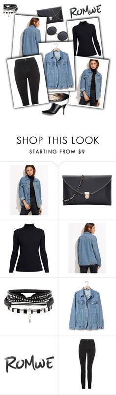 """""""Romwe"""" by lesnoyelv ❤ liked on Polyvore featuring Rumour London, Gap, Topshop and romwe"""