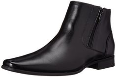 Shop a great selection of Calvin Klein Men's Beck Leather Boot. Find new offer and Similar products for Calvin Klein Men's Beck Leather Boot. Mens Shoes Boots, Men's Shoes, Shoe Boots, Dress Shoes, Look Fashion, Fashion Shoes, Mens Fashion, Ankle Booties, Bootie Boots