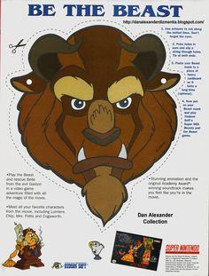 DISNEYS BEAST | Dan Alexander Dizmentia: Disney's Beauty And The Beast: The Beast, The ...