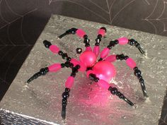 Swarovski Pearl Beaded Tarantula Hot Pink Princes Room Decor Spider Suncatcher | eBay