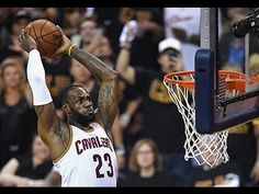 LeBron James' Game 6 Alley-Oop from 20 Different Angles!