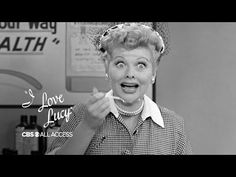 I Love Lucy - Lucille Ball Is The Original Queen Of Slapstick I Love Lucy, My Love, Desi Arnaz, Myrna Loy, Youtube I, First Tv, Lucille Ball, Rita Hayworth, Celebrity News