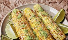 Southwestern corn on the cob/Feta corn on the cob/Butter Nutmeg corn on the cob