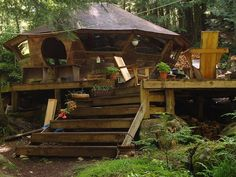 Family Farrel yurt