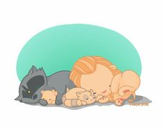 A Clexacoon family nap time Lexa The 100, The 100 Clexa, The 100 Quotes, Clarke And Lexa, Carmilla, Racoon, The Hundreds, Disney Pictures, Tweety
