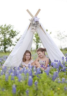 Chubby Cheek Photography - love the tent in the field of flowers!