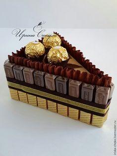 New diy gifts baskets candy Ideas Merci Chocolate, Chocolate Pack, Chocolate Gifts, Homemade Gifts, Diy Gifts, Chocolate Flowers Bouquet, Edible Bouquets, Flower Bouquets, Candy Flowers