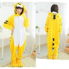 Tiger Onesies Kigurumi Sleep Suit Huispak