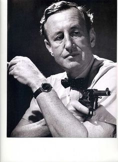 James Bond author, Ian Fleming.
