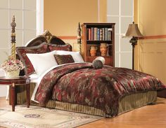 American Century Home Red Tropical http://www.hayneedle.com/product/americancenturyhomeredtropical4piececomforterset.cfm#