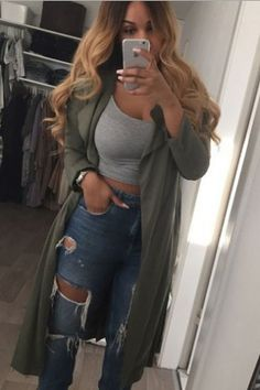 Sexy Solid Color Long-Sleeved Cardigan Jacket