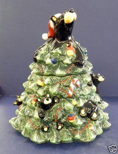 Retired Big Sky Carvers Bear Tree Cookie Jar | eBay
