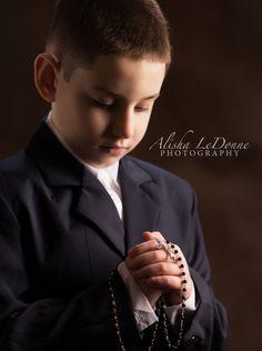 First Holy Communion    Alisha LeDonne Photography  #alishaledonnephotography #firstholycommunion #newjersey www.alishaledonnephotography.com