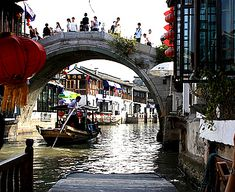 To do- Shanghai Zhujiajiao Water Town - Easy day trip, take pink bus from People's Park. RMB12 one way.