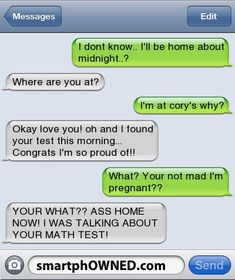 Top 15 Awkward Parent Texts - - Autocorrect Fails and Funny Text Messages - SmartphOWNED