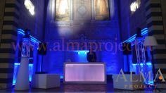 ALMA PROJECT @ FSH Florence - Conventino - Deejay set Eva console - moving heads lighting party 89