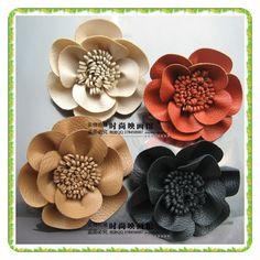 buque de flores de couro - Pesquisa Google