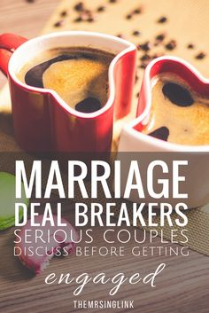 Marriage Deal Breakers Serious Couples Discuss Before Getting Engaged | Love Advice | Things Couples Talk About Before Marriage | Tough Talks Serious Couples Have Before Getting Engaged | Relationship Tips | Dating Advice | theMRSingLink