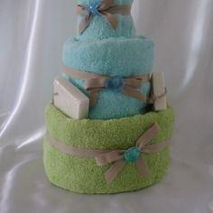 Gateau de serviette femme