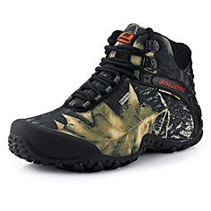 BaiDeng Mens Outdoor Trekking Hiking BootGrayUs Size 95 * Check this awesome product by going to the link at the image.