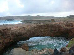 Aruba: natural bridge- no longer exists, but one of my favorite memories