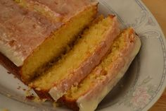 Orange Pound Cake - a little sunshine in the middle of winter.