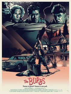 Poster Art for Tom Hanks  THE  BURBS -