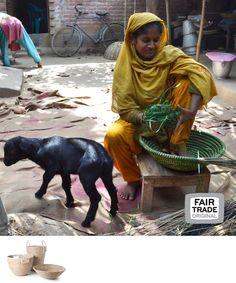 Manden van kaisagras, Bangladesh, Fair Trade Original