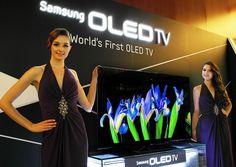 1er televisor Samsung OLED TV de 55 pulgadas presentado como prototipo en el CES 2012