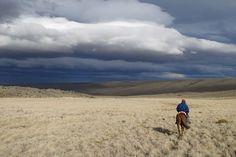 Cerro Pampa,Santa Cruz- Patagonia Argentina -  NUBES DE FRÍOOOO!