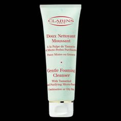 Clarins Gentle Foaming Cleanser  I like using this one with Tamarind for exfoliating in between use with my Purity Made Simple.