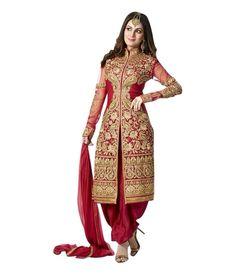 Jns high Quality Red sherwani