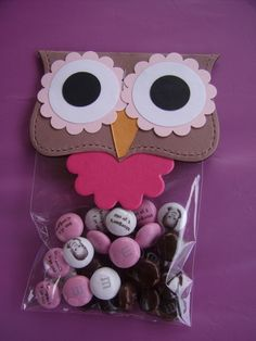 Owl party bag...too cute!