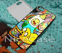 Adventure Time for iPhone 4/4s/5/5s/5c, Samsung Galaxy s3/s4 case