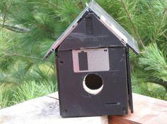 Floppy Disk Birdhouse