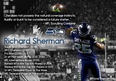 """Seattle Seahawks - Richard Sherman The """"experts"""" said what?"""