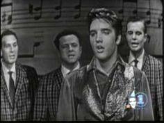 ELVIS Sings Blue Moon turns to Gold  1957 Ed Sullivan Show