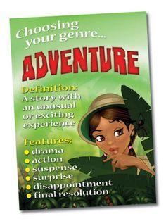 Choosing your genre...Adventure !