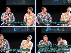 Ty and Jensen convention panel at JIB2013. X3 I love looking at all their panel stuff because it's freaking hilarious. XD