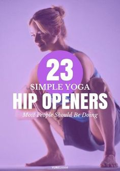 Health Motivation Yoga Hip Openers - 23 Simple Poses Most People Should Be Doing - If you ever feel stiff and sore, suffer from low back pain, or have poor posture, tight hips could be the culprit. These 23 yoga hip openers can help. Yin Yoga, Sanftes Yoga, Yoga Flow, Pilates Yoga, Pilates Reformer, Yoga Meditation, Vinyasa Yoga, Ashtanga Yoga, Kundalini Yoga