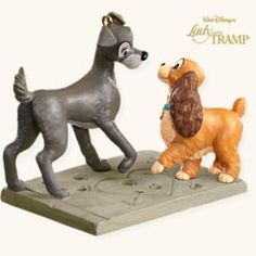 Disney - Signs Of Affection - Lady And The Tramp - 2008 Hallmark Ornament