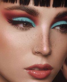 Edgy Makeup, Makeup Goals, Skin Makeup, Makeup Inspo, Makeup Inspiration, Beauty Makeup, Makeup Ideas, Eyeshadow Looks, Makeup Eyeshadow