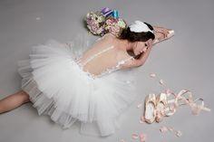 Ballet Wedding Dress|