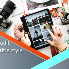 Finely crafted Photo PowerPoint Template for presentations of beautiful memories.