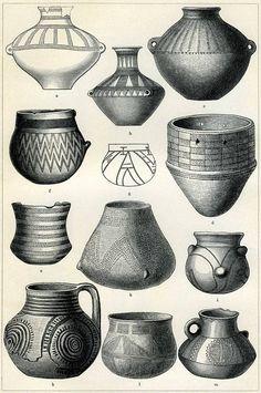 Neolithikum Jungsteinzeit Keramik