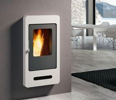 The Mini Wood Pellet Stove By Enviro House Stuff In 2019