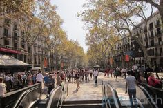 Shopped on Las Ramblas street in Barcelona.  -July '14