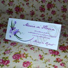 Plicuri de bani cu Floare de Iris Tableware, Dinnerware, Tablewares, Place Settings